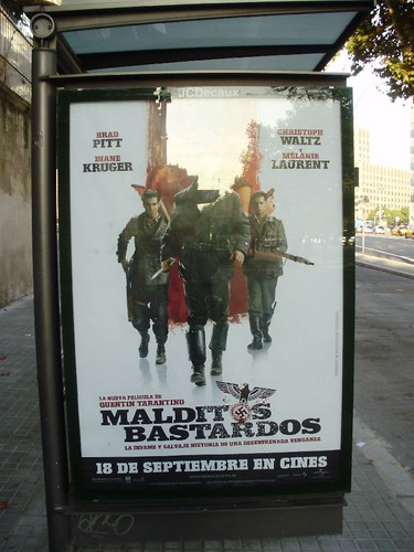 Poster for Malditos Bastardos