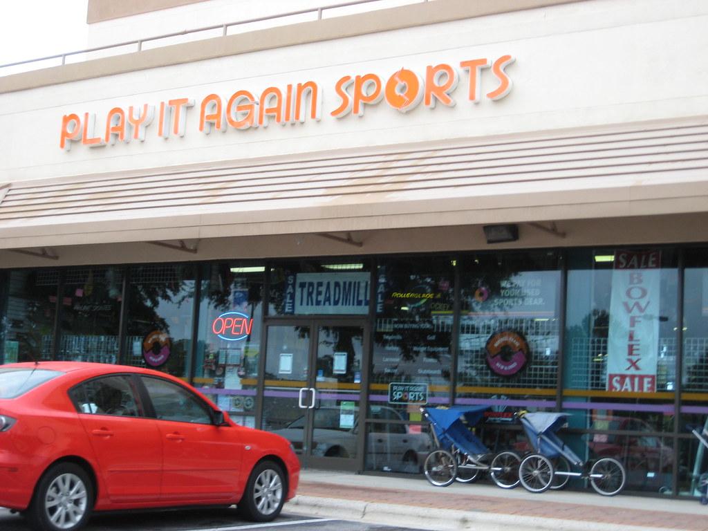 Play it Again Sports - tennis equipment