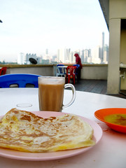 Prata, Teh Tarik and KL Skyline