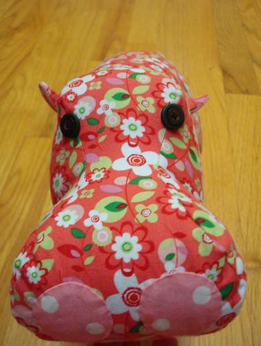Sadie hippo face