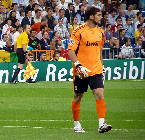 Iker Casillas front