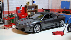 Ferrari F430 Spider (Miami Vice Movie) (jeffgarage) Tags: ferrari f430 118 bbr diecast diecaster jeffgarage