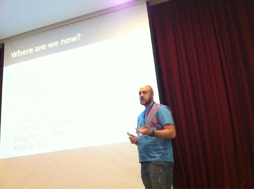Me Talking at webcamp:five
