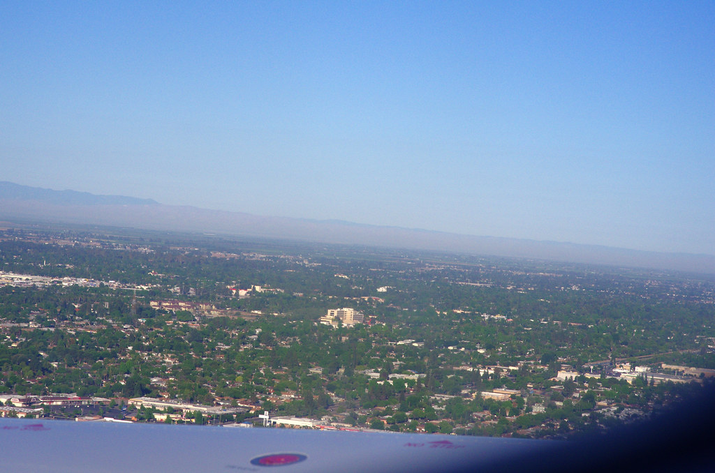 IMGP2217-Central Fresno from the airplane