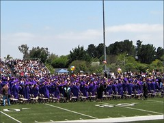 Contraband beach balls at Righetti graduation