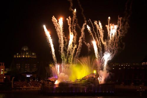 ending fireworks