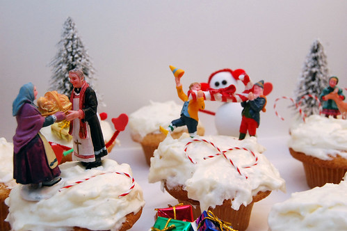 Cupcake Winter Wonderland
