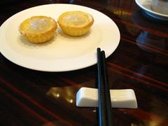 Egg Tarts with Birds' Nest @ Ying in Crown Hotel