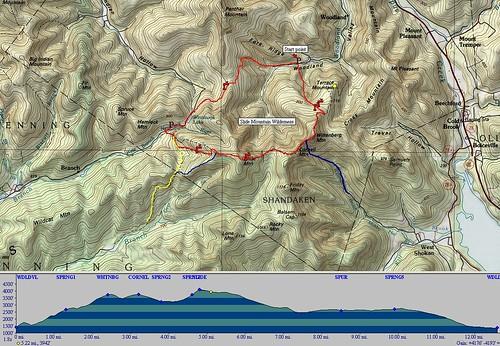 burroughs hike