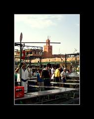 Ci si prepara per la sera (**Gianluke**) Tags: africa trip travel people 2006 persone morocco marocco marrakesh suk