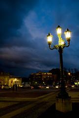Bergamo di notte (Rickseventy79) Tags: street city light shadow night cityscape pentax cloudy centro pda sdm if smc bergamo f28 notte lampione città nighthawks artificiallight telltale edal 1650mm rick79 ©riccardomelillo