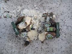 Frozen beer (kristoffintosh) Tags: sweden newyears kristoffer slen snowboardning