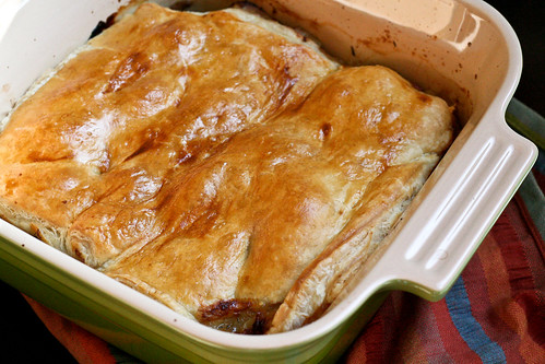 Sunday Supper: Pork & Apple Pot Pie