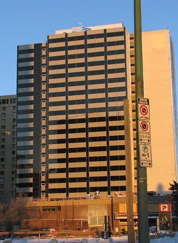 Former Sheraton Hotel