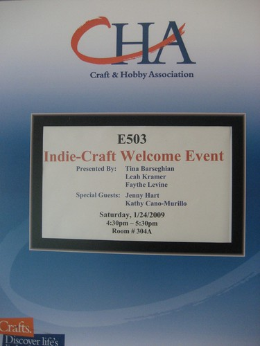 Indie-Craft Welcome Event