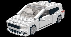 VW Scirocco - title 2 (.Jake) Tags: sports car modern vw volkswagen roc lego wheels fast sporty lugnuts scirocco