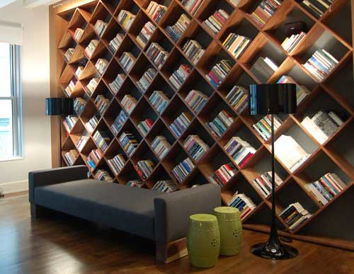 3235956503 2878889dbb Top 10 Creative AND Practical Bookcases