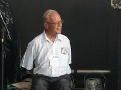 Padre José Comblin en el banquillo