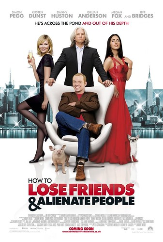 How to Lose Friends & Alienate People, movie poster