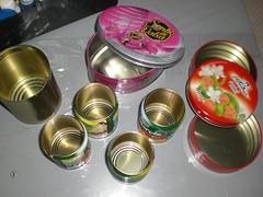 Latinhas... meu novo desafio! (~ Art Pieces Patchwork ~ SaTikO ~) Tags: reciclagem decoupage latinhas reciclart