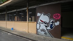 Yo 2009 (TH KILLR GRBIL) Tags: streetart gerbil graffiti singapore custom killergerbil