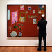 Matisse Red Studio with Viewer