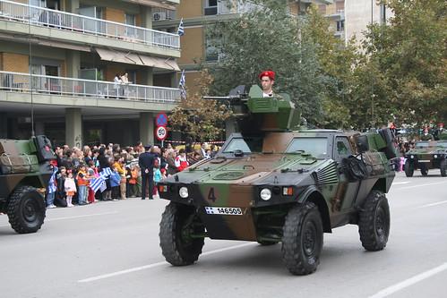 Un tanque griego