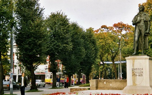 Калининград - Schiller Monument, Kaliningrad  2003 ©  sludgegulper