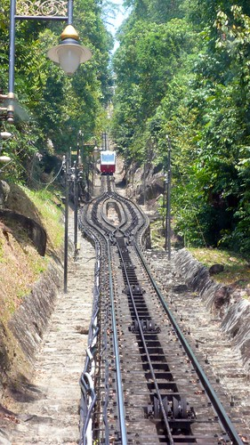 rail up penang hill