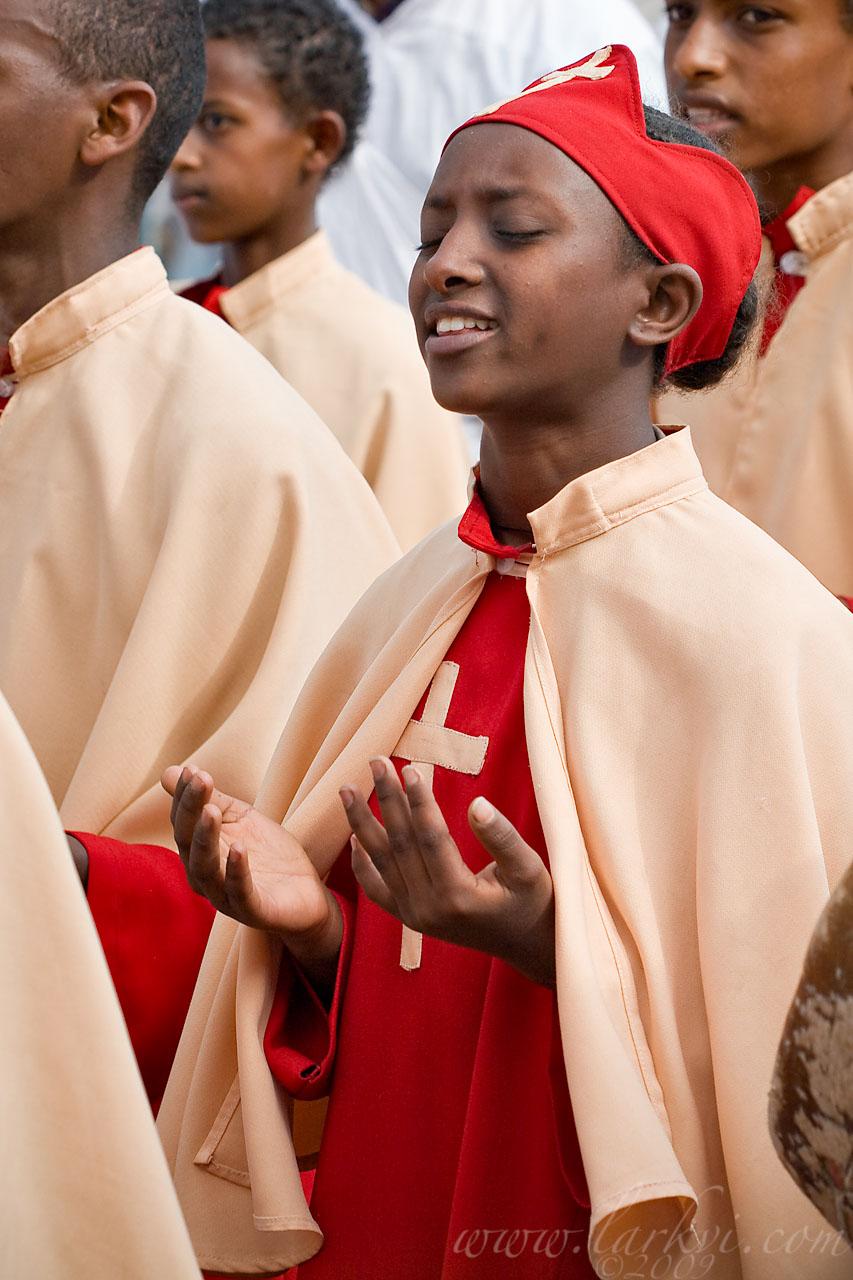Choir #2, Timkat (Epiphany), Addis Ababa, Ethiopia, January 2009