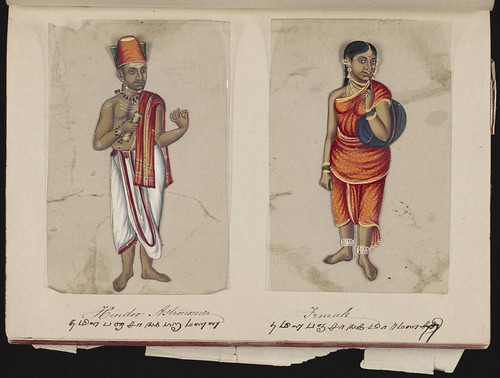 Hindoo astronomer - Female, Madura, 1837