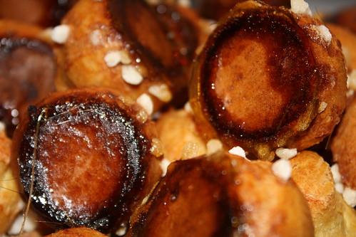 Chouquettes caramélisées