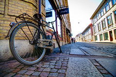 gothenburg (-12C) Tags: street bicycle gteborg cobblestone 365 2x3 d90 047 project3661 tokina1116mmf28