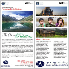 The Other Pakistan Flyer (Max Loxton) Tags: pakistan photographers exhibition names lahore participants lums yasirnisar maxloxton theotherpakistan