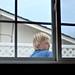 Boy in a window