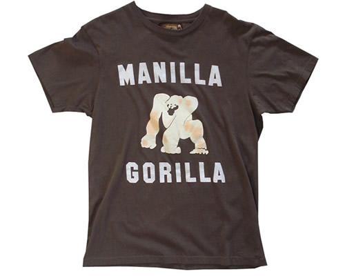 Manilla Gorilla T-Shirt by WornBy (Muhammad Ali) by Mr. Fresh.
