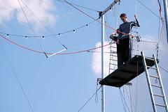 first time (wolfsavard) Tags: california pier flying santamonica joe trapeze tsnylosangeles