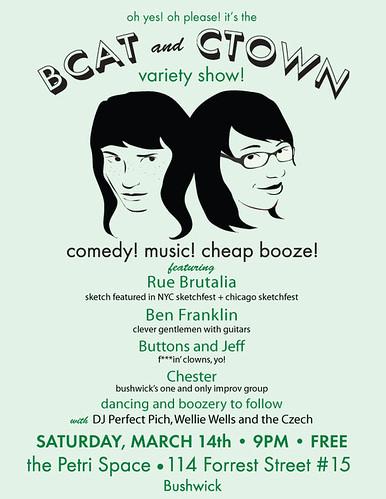 Variety Show w/ Ben Franklin!