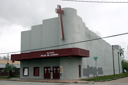 side view of bay theater