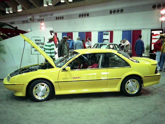 indy chevy 1990 carshow beretta baltimoreconventioncenter motortrendinternationalautoshow