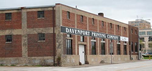 davenport printing company