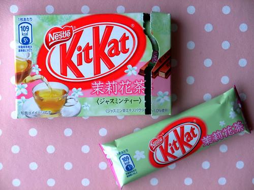 Kit Kat jasmine tea