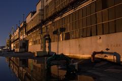 Mare Island Naval Shipyard Prime Lense Study #3 (After Dark Photo) Tags: longexposure nightphotography abandoned fullmoon shipyard vallejo startrails mareisland nocturnes navalhistory primelense minsy nocturnes090307 nocturnesalumni