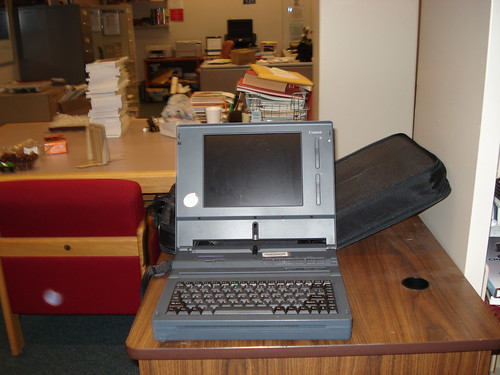 Bonus - ye olde ancient laptop