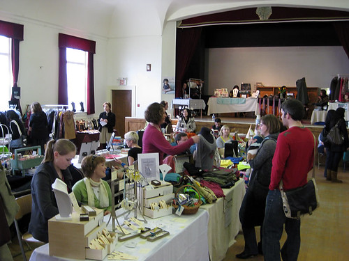 Etsy Spring Fling craft fair