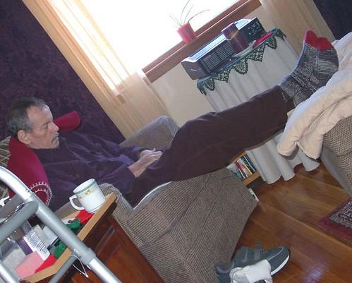 First handknit socks