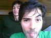 Primos (David-g-Marin) Tags: camera hair studio beard long primos cousins watching guys latin posando gestos 2guys newfaces