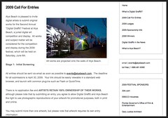 2009 Call For Entries | Digital Graffiti at Alys Beach_1238148158890