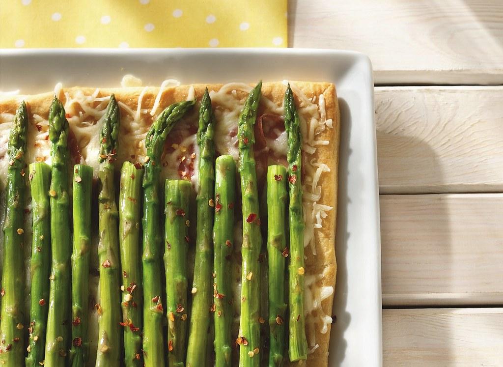 RECIPE: Ham and Asparagus Squares