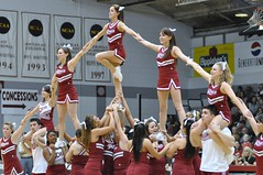 Rider College Cheer Pyramid (MNJSports) Tags: girls men basketball dance cheerleaders pyramid jazz dragons block cheer root broncos rider yell rhythm stunt dribble acrobatic drexel layup jumpshot leonspencer jamieharris scottrodgers drexelbasketball geraldcolds tramaynehawthorne mikeringgold evanneisler kennytribbett riderbasketball bruiserflint riderspiritgroups